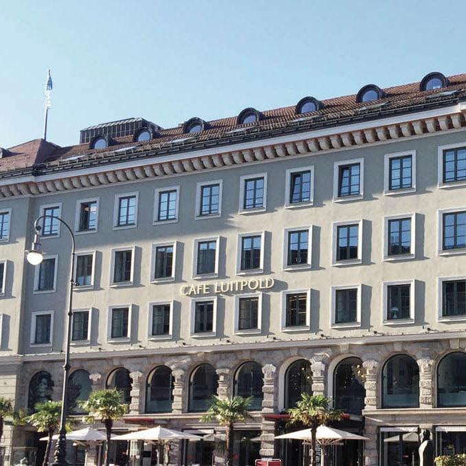 Außenfassade Lappenplastik behandeln Proktologische Praxis München