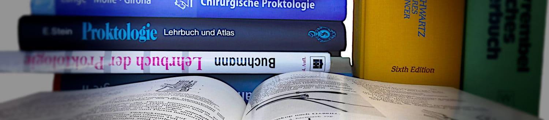 Bücher Proktologie | Proktologische Praxis München