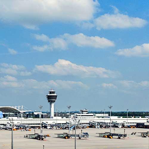 Anfahrt vom Flughafen zur Proktologischen Praxis München